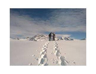 Raquette à neige sportive les gravelles Courchevel