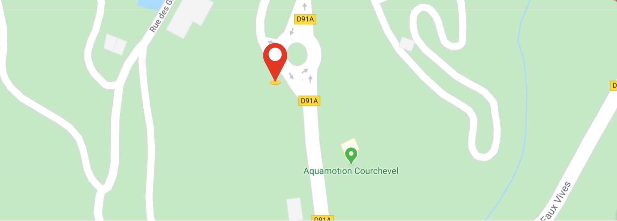 points de rendez-vous sorties raquettes evasion courchevel - aquamotion
