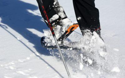 ai je besoin de raquettes pour marcher dans la neige Courchevel
